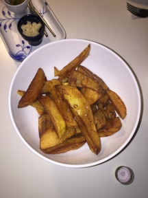 The perfect french fries - remember to give them loads of salt :p